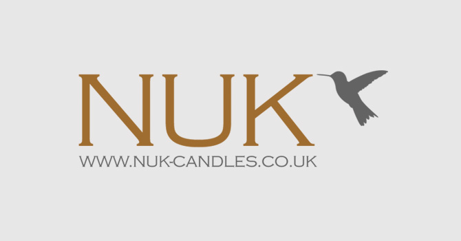 Nuk Candles Leicester Branding Design