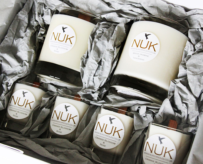 NUK Candles Brand Design