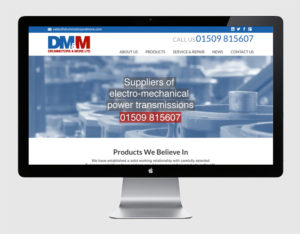 Our Web Designers created this site for DMM Loughborough