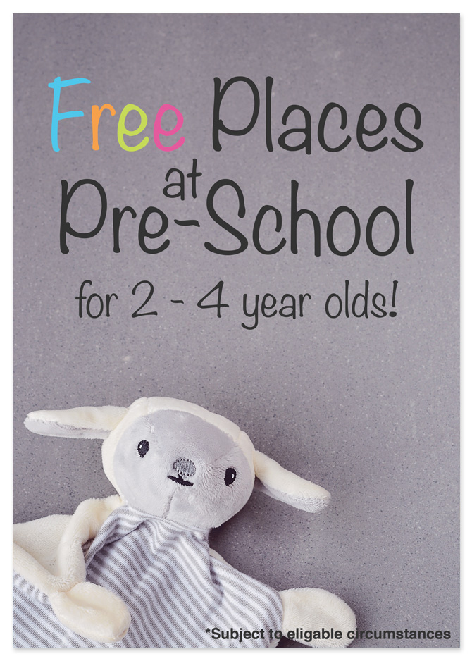 Our flyer we designed for a nursery in Stafford